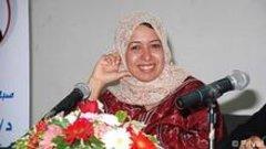 الصورة دويتشه فيله الشاعرة اليمنية ابتسام المتوكل