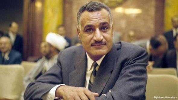 الزعيم المصري الراحل جمال عبد الناصر