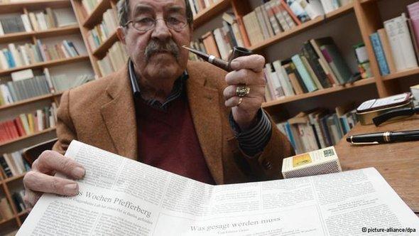 شن الأديب الألماني المعروف غونتر غراس، الحائز على جائزة نوبل للآداب هجوما على إسرائيل ووصفها بأنها تهديد للسلام العالمي، نظرا لتهديها بشن هجوم عسكري على إيران، وذلك في قصيدة جديدة