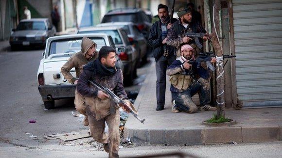 Syrian rebels in Idlib (photo: dapd)
