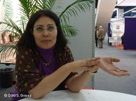 Mansoura Ez-Eldin (photo: Samir Grees/DW)