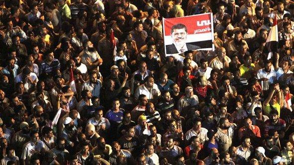 مرسي في ميدان التحرير