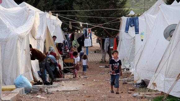 Refugee camp in Reyhanli (photo: AP/dapd)