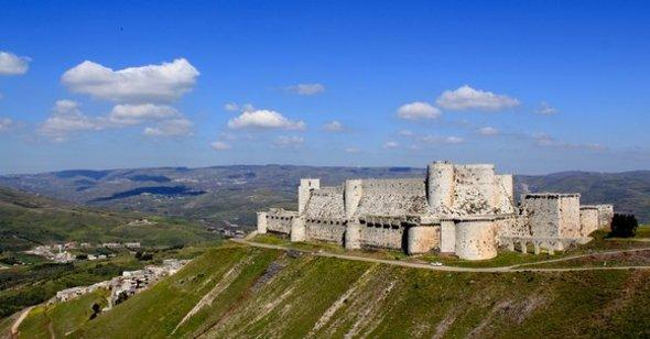 قلعة الحصن الصورة ايرغو
