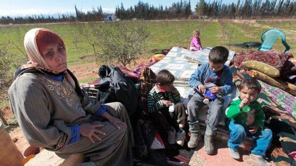 Syrian refugees in Lebanon (photo: dapd)