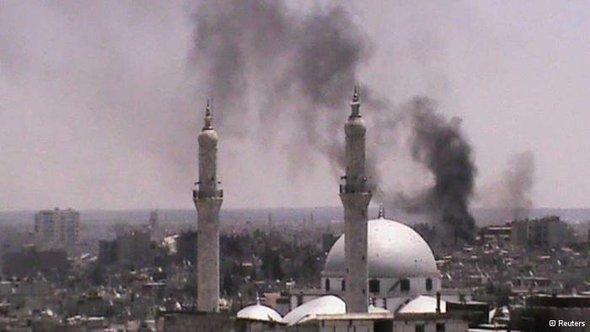 حلب تحترق الصورو رويترز