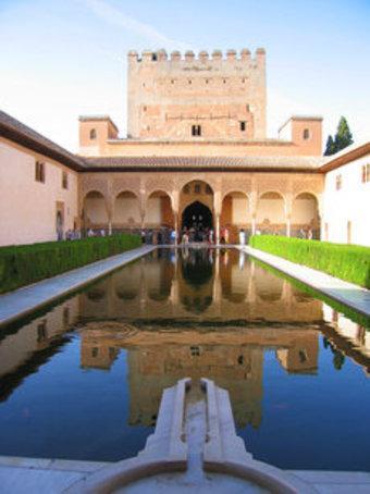 قصر الحمرا الصورة ويكيبيديا
