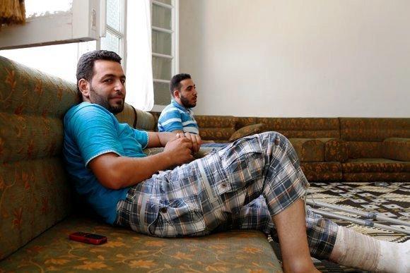 FSA commander Abu Ali (photo: Joshua Archer)