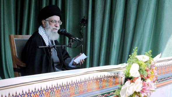 خامينئي إيران الصورة ايران الرسمية