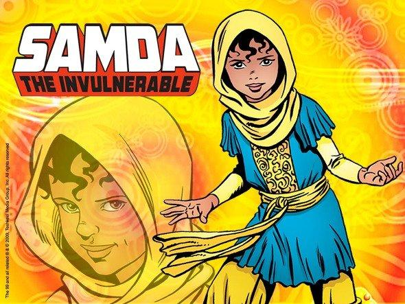Samda the Invulnerable (image: www.the99.org)