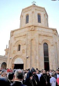 كنيسة الأرمن في دير الزور الصورة ويكيميديا