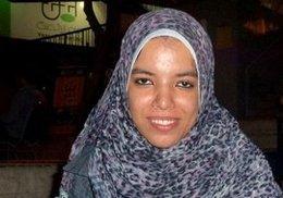 الناشطة ضحى محمد، الصورة ماتياس زايلر