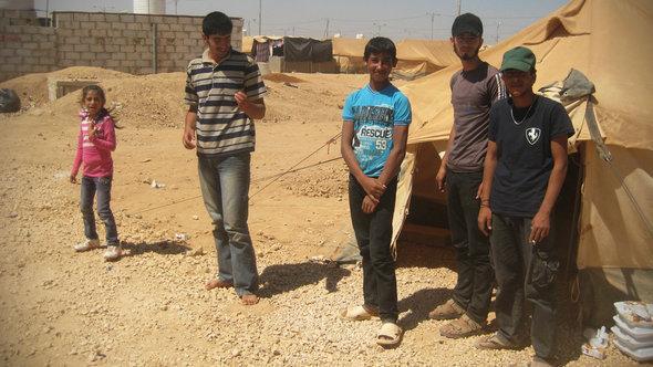 الصورة دوريس بولاو لاجئون سوريون في الاردن