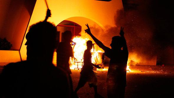 مهاجمة القنصلية الأمريكية في بنغازي رويتر