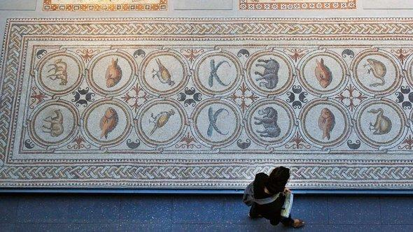 A late-Roman mosaic from northern Africa (photo: AP)