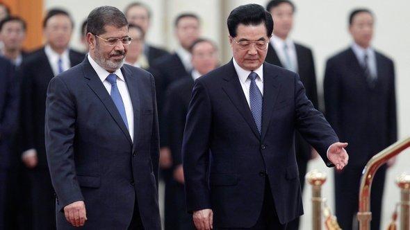 مرسي ونظيره الصيني رويتر