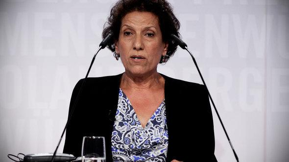 Laywer and human rights activist Radhia Nasraoui (