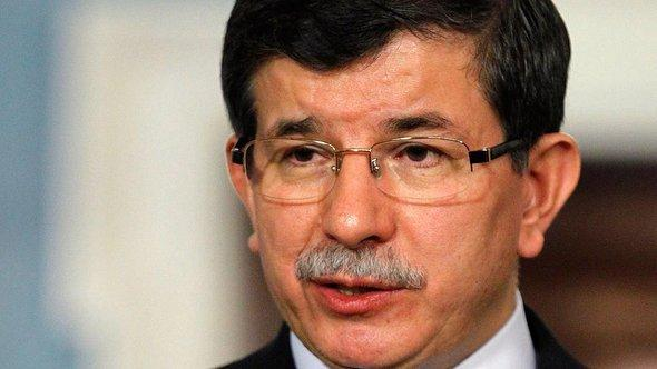 The Turkish foreign minister Ahmet Davutoglu (photo: dapd)