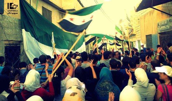 سوريا مظاهرات في حمص