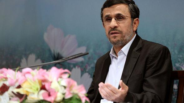 الرئيس الإيراني: أحمدي نجاد. غيتي إميجيس