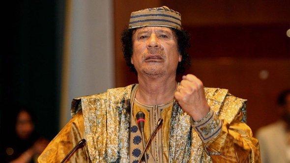معمر القذافي. د ب أ