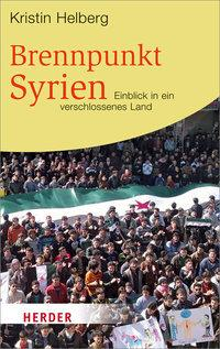 Cover of Kristin Helberg's 'Syria in the Firing Line' (source: Herder)