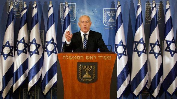 رئيس الوزراء الاسرائيلي نتنتياهو الصورو رويترز