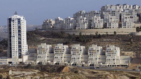 مستوطنات إسرائيلية في القدس الشرقية. د ب أ