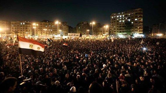 مظاهرات احتجاجية في ميدان التحرير. 27 نوفمبر 2012