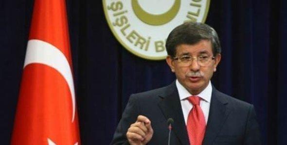 وزير الخارجية التركي أحمد داوود أوغلو. أ ب
