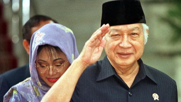 سوهارتو: الرئيس الإندونيسي سابقاً. أ ب
