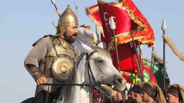 """مشهد من إحدى المعارك في مسلسل : """"حريم السلطان"""". Imago"""