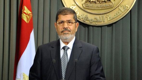 الرئيس المصري محمد مرسي. أ ب