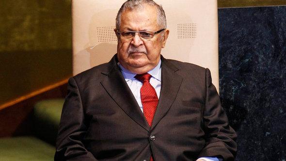 Iraq's president Jalal Talabani (photo: Reuters)