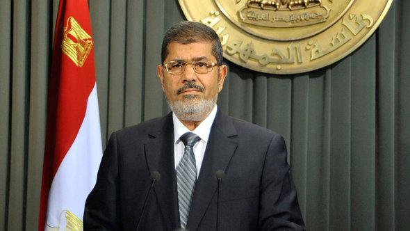 Egypt's president Mohammed Morsi (photo: AP)
