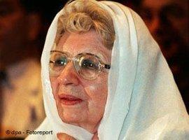 آنِّه ماري شيمِل في إسلام أباد بباكستان. د ب أ