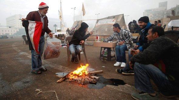احتجاجات ضد مرسي في ميدان التحرير. رويترز