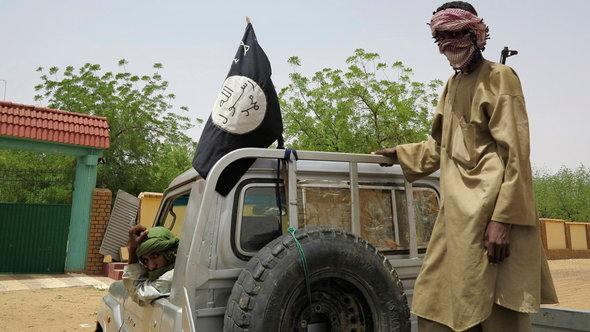 إسلاميون متطرفون في منطقة غاو شمال مالي. رويترز