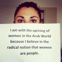 Paola from Lebanon (copyright: The uprising of women in the Arab world)