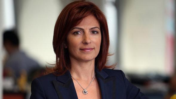 سيدة الأعمال التركية لاليه سارال ديفيليئوغلو. TURKCEL