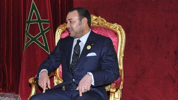 الملك المغربي محمد الخامس. أ ب