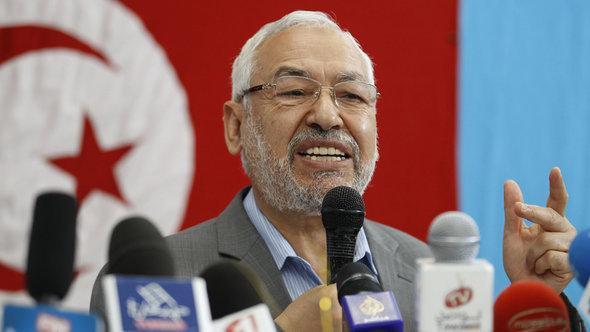 Rachid Ghannouchi, head of the Islamic party Ennahda in Tunisia (photo: Reuters)