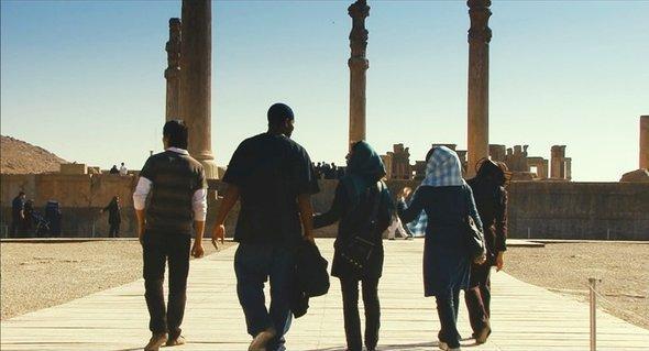 الموقع التراثي برسبوليس شمال شرق شيراز. theiranjob.com