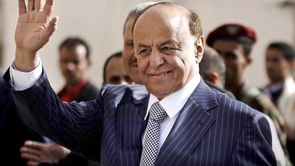 الرئيس الانتقالي لليمن عبده ربه منصور هادي. رويترز