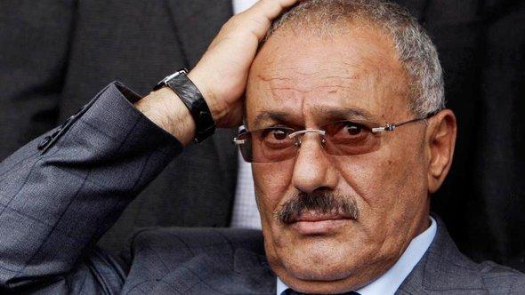 الرئيس اليمني السابق: علي عبد الله صالح. أ ب