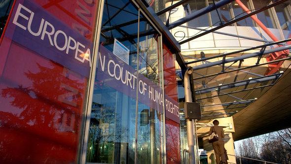 Europäischer Gerichtshof für Menschenrechte in Straßburg, Foto: picture alliance/JOKER
