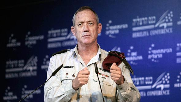 رئيس أركان الجيش الإسرائيلي بيني غانتز. أ ب