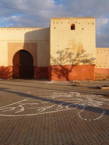 جانب من المدينة العتيقة في مراكش. أستريد كامنسكي