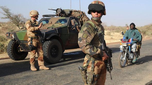جنود فرنسيون في إطار عملية التدخل العسكري في مالي. غيتي إميجيس