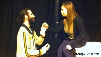 مسرحية روميو وجولييت، تمثيل رمزي حسن وملك أبو غربيه
